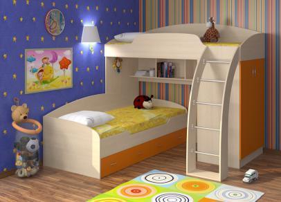 Какая  кроватка  лучше?  (дети    в  возрасте  4  и  1  )