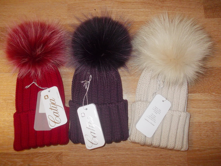 Новые шапки Катя (зима 2013-2014) Цена 3800