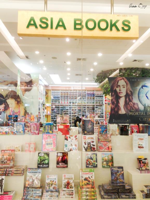 Еще один книжный в Таиланде