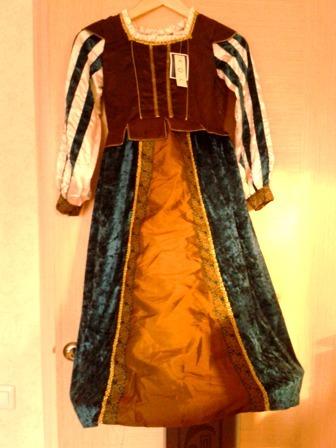 Новогодний костюм Принцессы 7-8 лет, рост 128 см