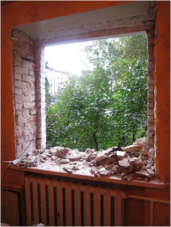 Replacing windows in a brick house