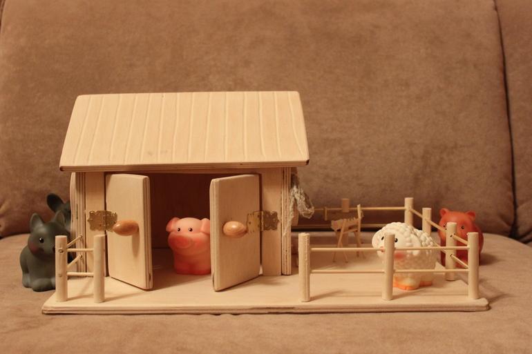 Наша игрушечная ферма своими руками 305