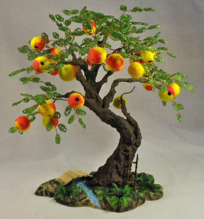 Как сделать яблоко деревья