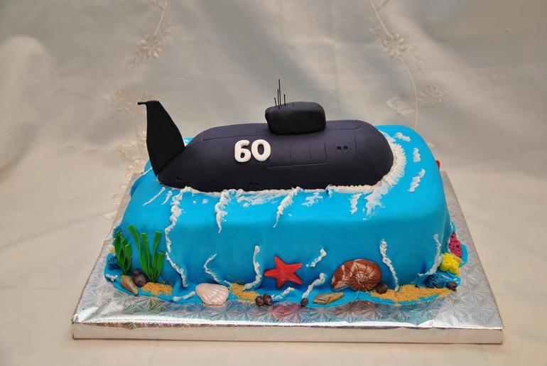 подарок в виде подводной лодки