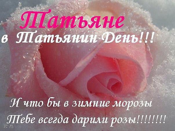 Поздравление татьянин день 25 января прикольные