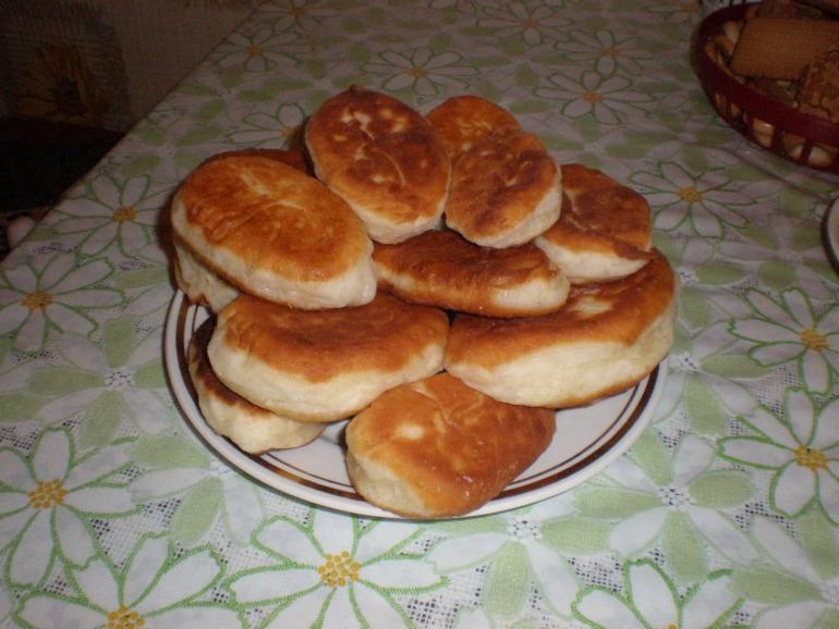 Мои первые пирожки...