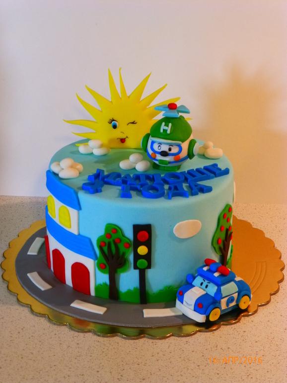 Торт для мальчика на 2 года фото своими руками 97