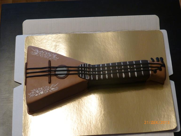 торт балалайка фото