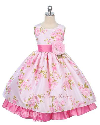 Пошив детских платьев выкройка