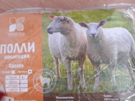 Детское шерстяное одеяло из овечей шерсти