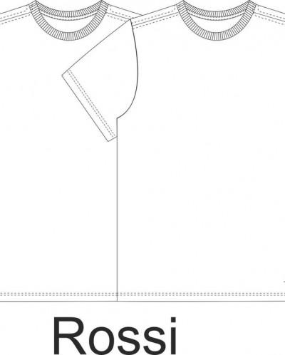 Фуфайка детская для мальчиков в наборе из 2 шт Rossi set бел