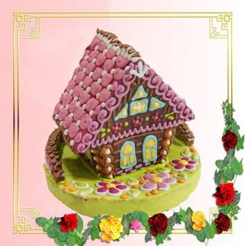 Пряничный домик в коробке (1650 гр)