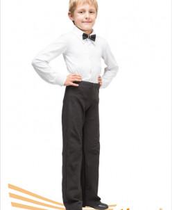 Рубашка детская (мужская) бальная (хлопок) 2 цв,28-48