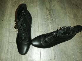 Ботинки весна - осень р. 37(24см), натуральная кож