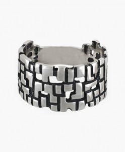 Кольцо из серебра Матрица Юмила
