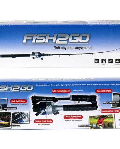 Складная удочка FISH2GO