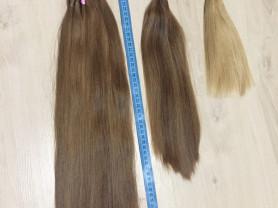 натуральные волосы для наращивания ЛЮКС СРЕЗ