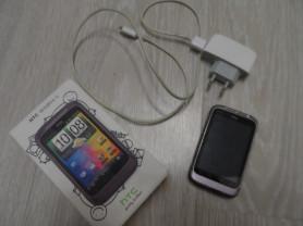 Телефон смартфон htc wildfire s пурпурный б/у