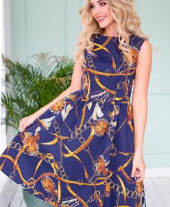 Платье Эвелина цепи (П-118-8)