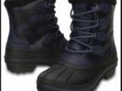 Новые зимние непромокаемые ботинки Crocs