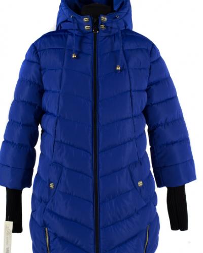 50 размер Куртка зимняя (Синтепух 300) Плащевка Сапфир
