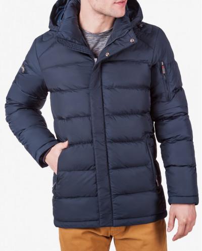 Куртки мужские с капюшоном 1557 т.синий (6)