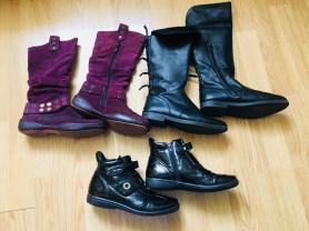 Пакет осенней обуви р.35