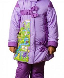 """верхняя одежда для девочки Зимняя модель""""Пони"""""""
