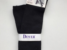 Чулки новые Dover размер 44 46 М чёрные вязаные шерсть кашемир