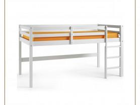 Игровая кровать с прямой лестницей