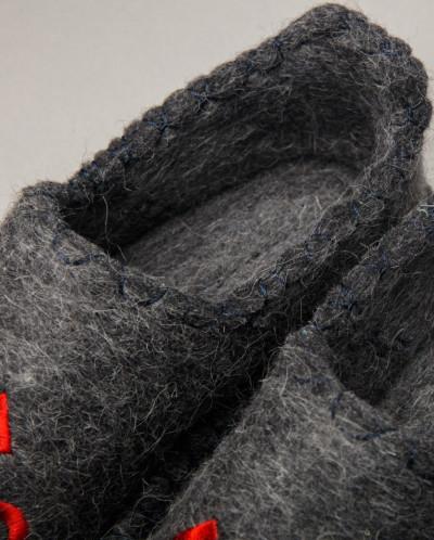 Мокасины 100% войлок Монголия