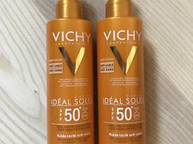 Солнцезащитный флюид Vichy (антипесок)