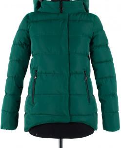 04-1184 Куртка демисезонная (синтепух 150) Плащевка Малахит