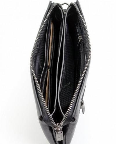 Мужское кожаное портмоне (клатч) на молнии Dierhoff