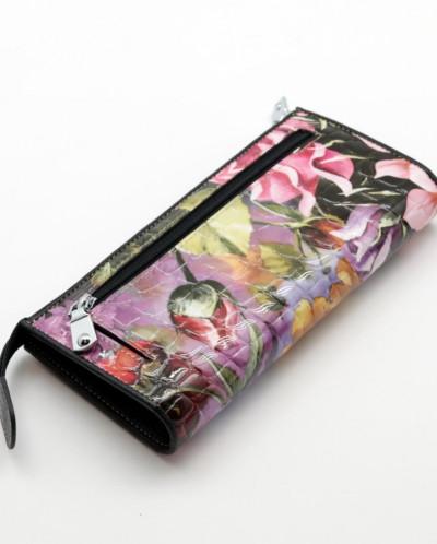 Женский кожаный кошелек на молнии Sergio Valentini СВ 8076-0