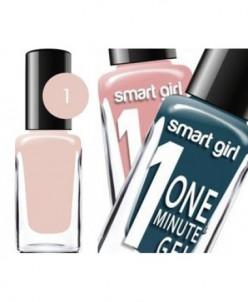 "БД Лак для ногтей ""Smart Girl"" One minute №001, 14582"
