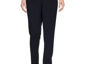 Темно-синие зауженные брюки / M-L