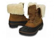 Новые натуральные ботинки Crocs, оригинал,до -25°С