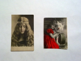 Старая фото открытка Cleo de Merode nadar paris