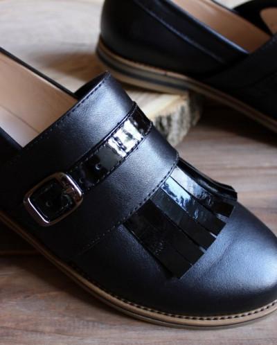 Кожаные туфли лоферы. New collection 17-18!