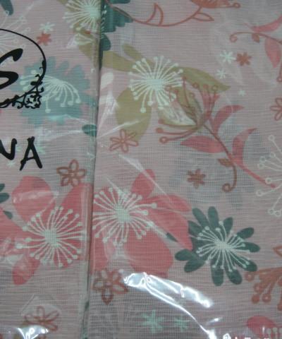 Цветы платок