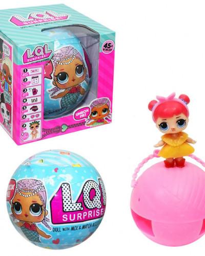 Кукла-сюрприз в шаре