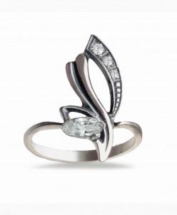 Кольцо из серебра Креолка Юмила