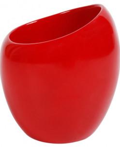 Nora (красный) Стакан для зубной пасты, полимер