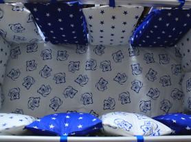 Бортики в кроватку, постельное белье