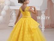 новые пышные детские платья в пол