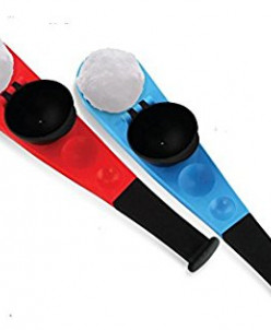 Снежколеп - метатель Snowball Thrower - красный, синий