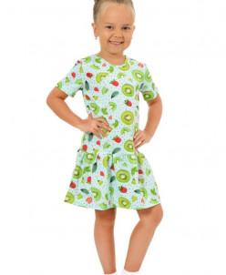 Платье детское П-28 (хлопок с лайкрой)