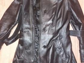 Элегантный кожаный тренч ORSA р.44 it (46/48).