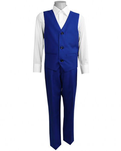 Школьный костюм-тройка UNIK KIDS, электрик (116-164)